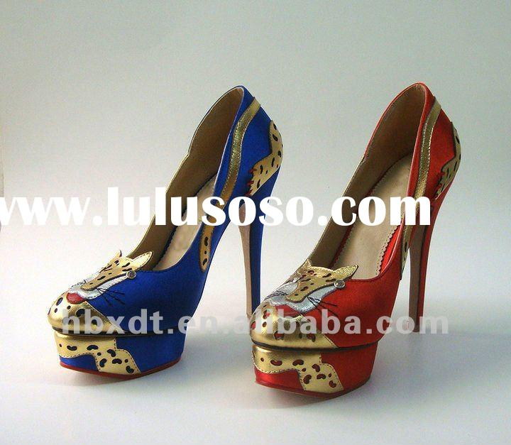2012 new style hot sale fashion high heel shoes for spring