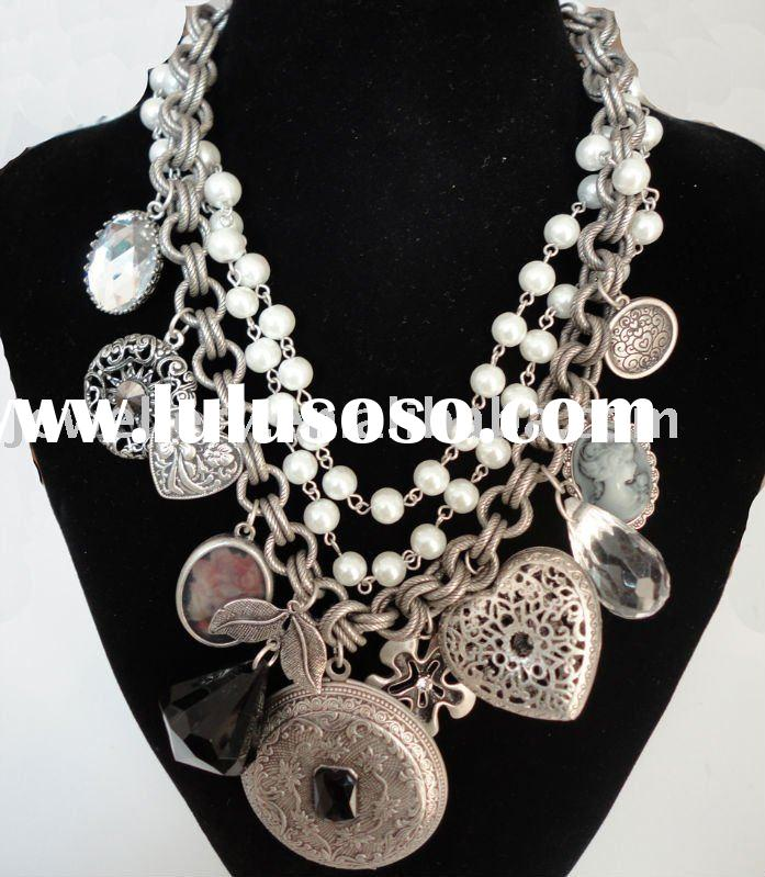 2012 wholesale Fashion Necklace vintage jewellery