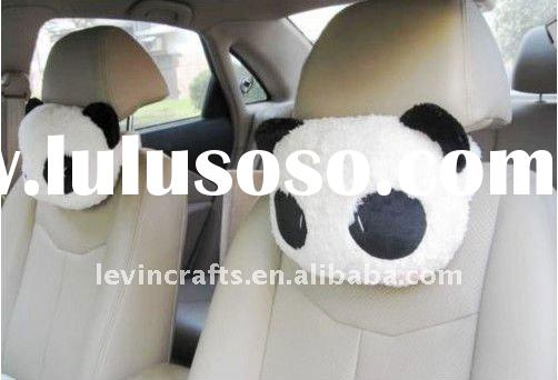2pcs Panda Car Seat Neck Rest Pillow for Couple lovers