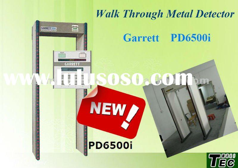 33 Zones Garrett PD6500i Walk Through Metal Detector Gate,Body Scanner Metal Detector Gate
