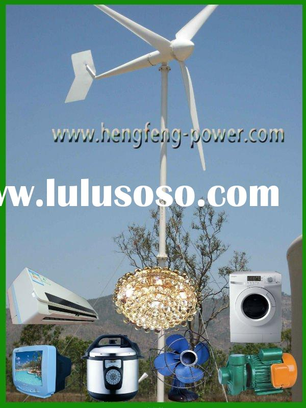 3KW Wind Generator Installed at Island*(permanent magnet generator/3kw windmill/3kw wind alternator)