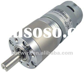 45mm dc brush gear motor with planetary gear box