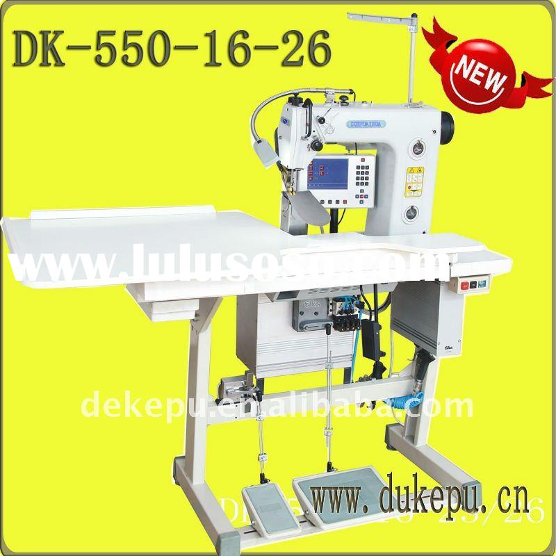 550-16-23/26 CNC Computer-control Setting Sleeves Sewing Machine for suit,overcoats,jack,ladies,shir