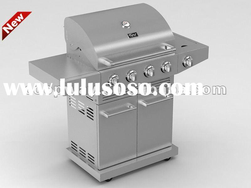 60,000 BTU 4B+SB STAINLESS STEEL GAS GRILL
