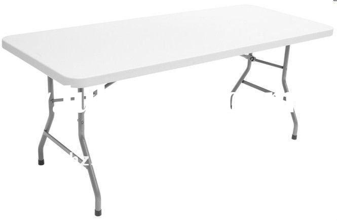 72'' folding events table and chairs