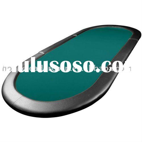 79'' 3-Fold Texas Hold'em Padded Oval Poker Table Top