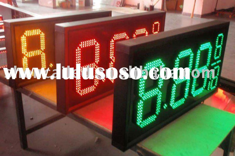 7 segment led digital display