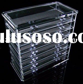 Acrylic Jewelry Display,Lucite Jewelry Box,Perspex Display Case
