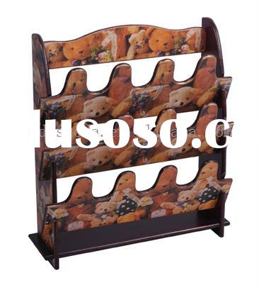 Antique Classic with fashion design wooden shoe rack