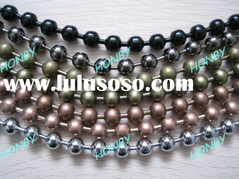 Antique Metal Curtain Bead Chain for Hotel Decoration