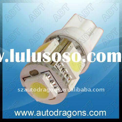 Automotive auto 194 SMD wedge white color car led lamp