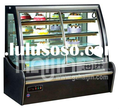 Bakery refrigerators- Cake display cabinet/refrigerating showcase for tommy-shop/snack cabinet for b