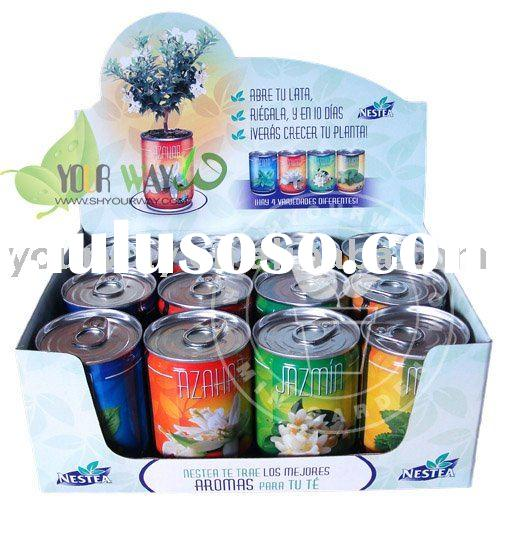 Can flower for Nestea,Flowers in a can