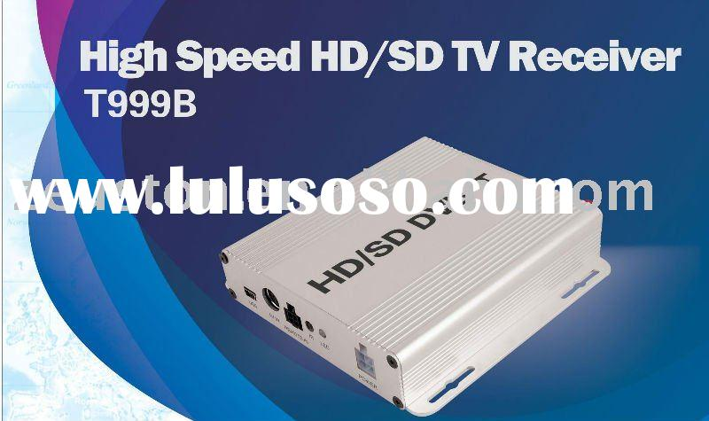 Car tv tuner DVB-T MPEG4 tv tuner H264 T999B