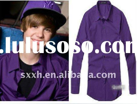 Casual Style Shirt,justin bieber show it!