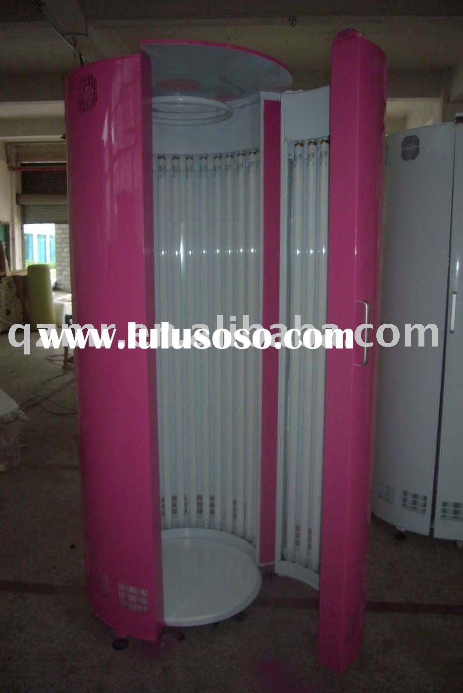 China vertical tanning bed/33 lamps /CE approval