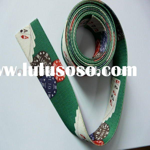 Color braded elastic band & sewing elastic band