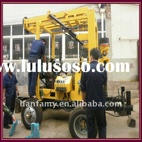 Coring Drill Rig for Deep Well! HF-3 Water Well Drilling Machine