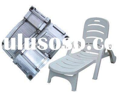 Custom Make Injection Plastic Long Chair Mould