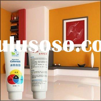DIY Water Based Pigment Paste for Interior and Exterior Wall Paint