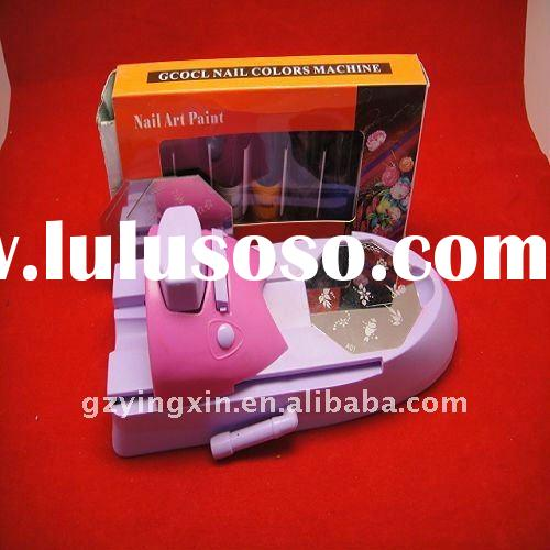 DIY nail art stamping printing machine template set(SJ-SNA08)