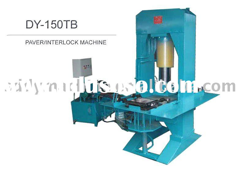 DY-150TB Color Brick/Paver/Interlock Making Machine