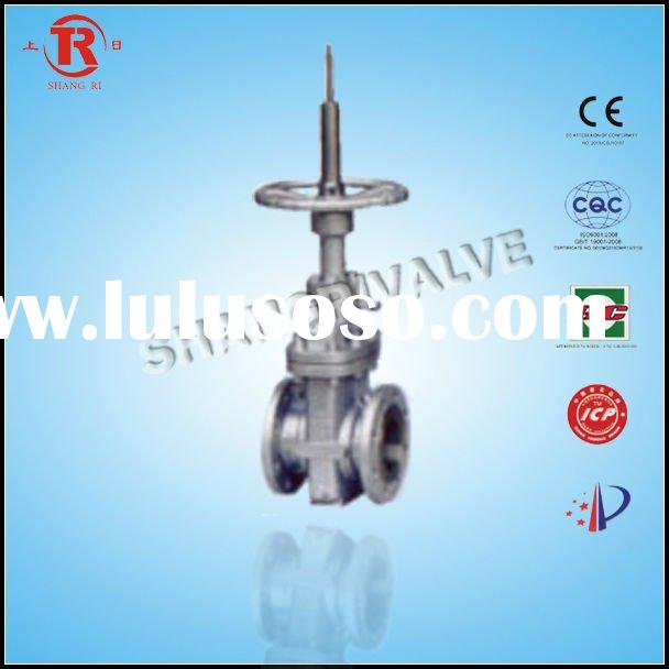 Double flate gate valve extension