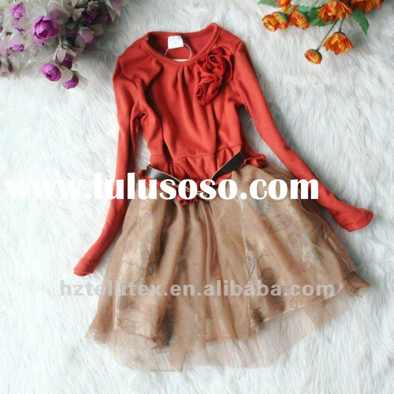 FREE SHIPPING!2012 SPRING NEW ARRIVAL,HOT SALE!GIRLS SPRING FASHION DRESS,GIRLS PRINCESS DRESS,GIRLS