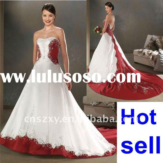 Stunning Red And White Corset Wedding Dresses Ideas - Styles & Ideas ...