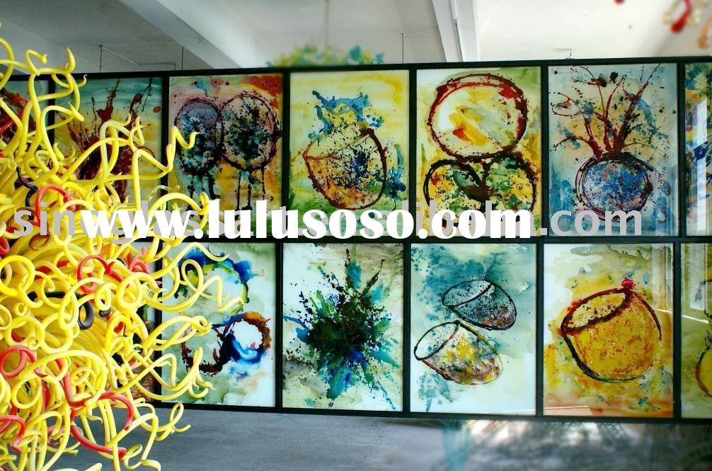 Glass Art Painting