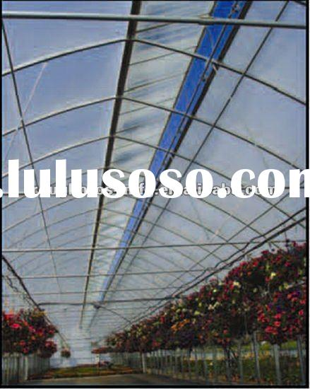 Gothic plastic tunnel film greenhouse ISO9001:2008