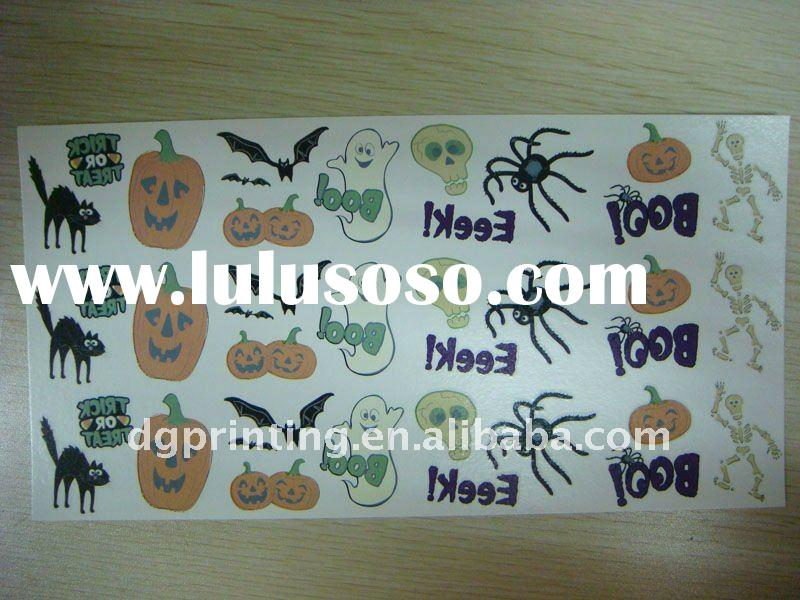Halloween temporary tattoos/Festival kids tattoos