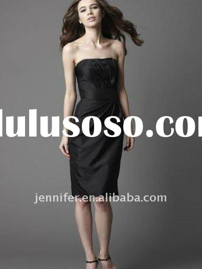 High quality ladies knee-length evening dress wholesale and retail (abh323)
