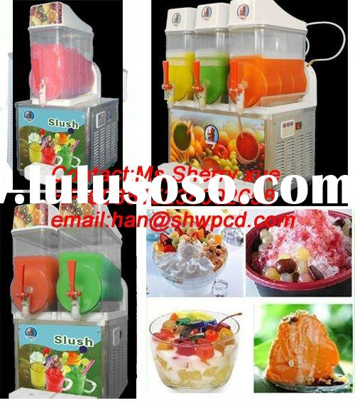 Hot-sale CE Granita Slush frozen drink machine,frozen juice dispenser