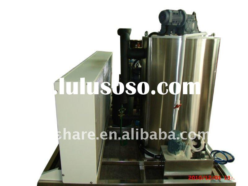 Industrial ice making machine with Bitzer compressor,PLC control