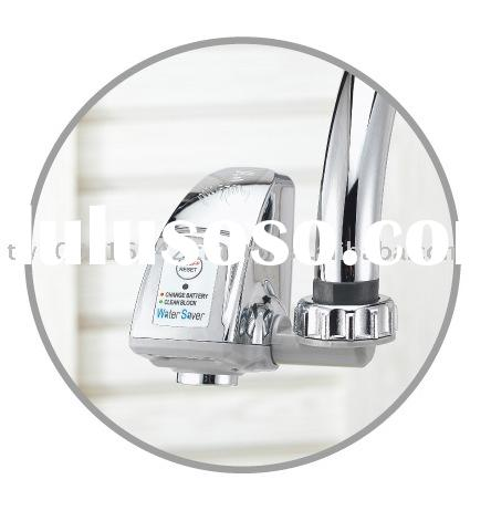 Infrared Water Saving device, Water Saver/Auto Spout turns faucet into automatic unit