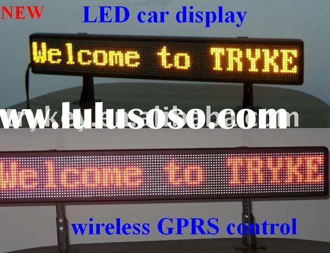 LED Display Sign Remote Programmable for car,Car LED Display Sign,Car LED display
