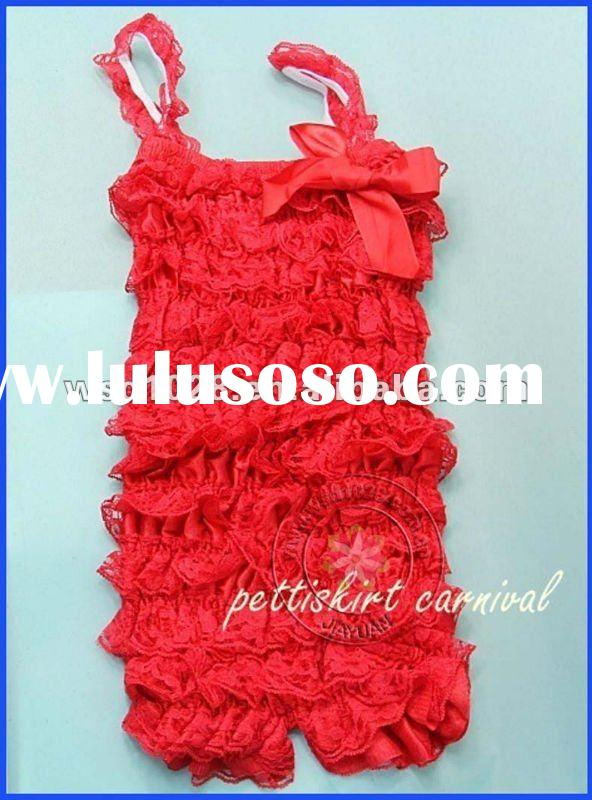 Lace petti rompers wholesale