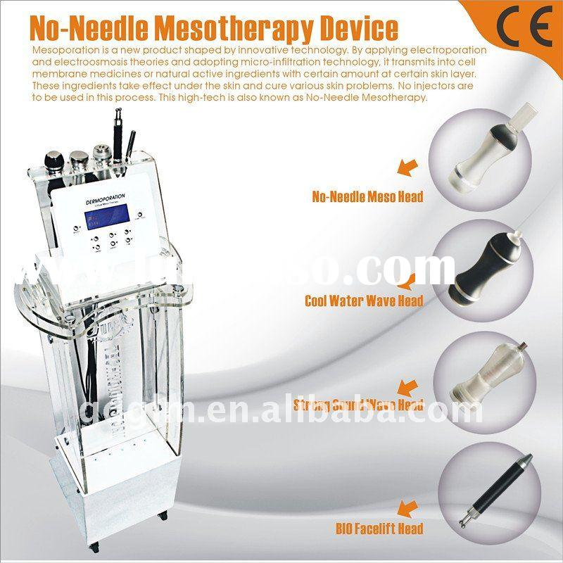 Luxury No-Needle Mesotherapy beauty equipment for skin rejuvenation