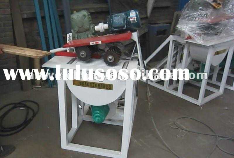 MJ143 automatic feed high speed precision two-spindle table cross-cut for sale in furniture circular