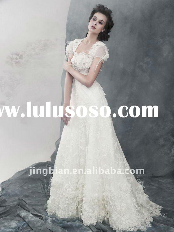 Most PoPular Sweetheart Neck Floor -length Ball Gown Wedding Dress YY5080