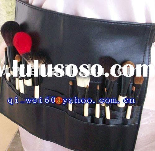 NEW 16 Pcs Pro MAKEUP ARTIST BRUSH TOOL WITH BELT APRON