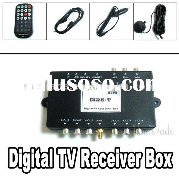 New Car High Speed DVB-T Digital TV Receiver Box