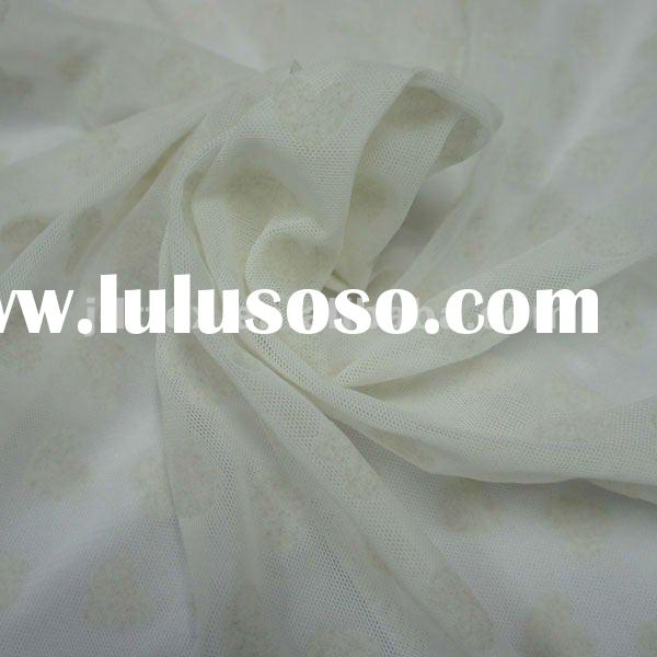 Nylon spandex stretch tulle fabric for clothing