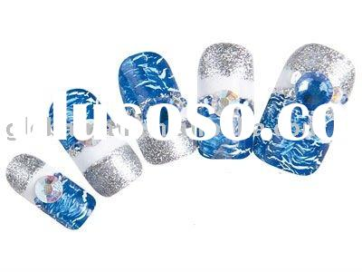 One Set Of Blue White Silver & 2011 New Design Cracking Nail Art Polish Magic Instant Crack