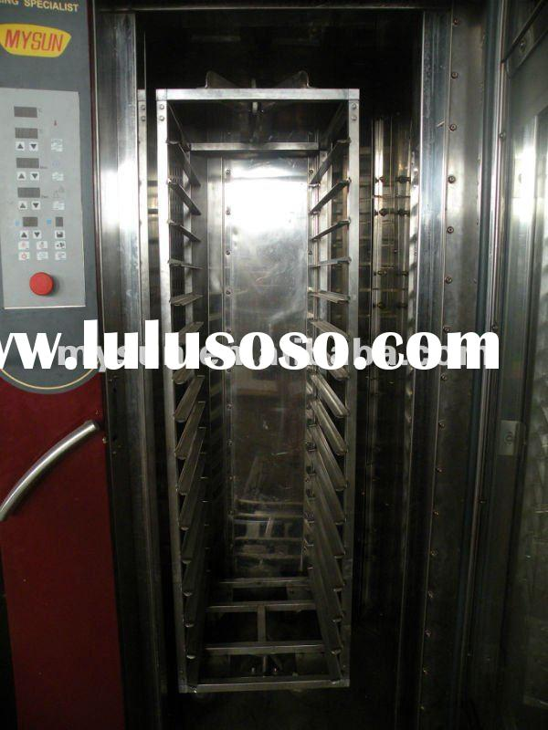 One Trolley bread baking line/bread bakery machinery line/bread making machine/food baking rotary ov
