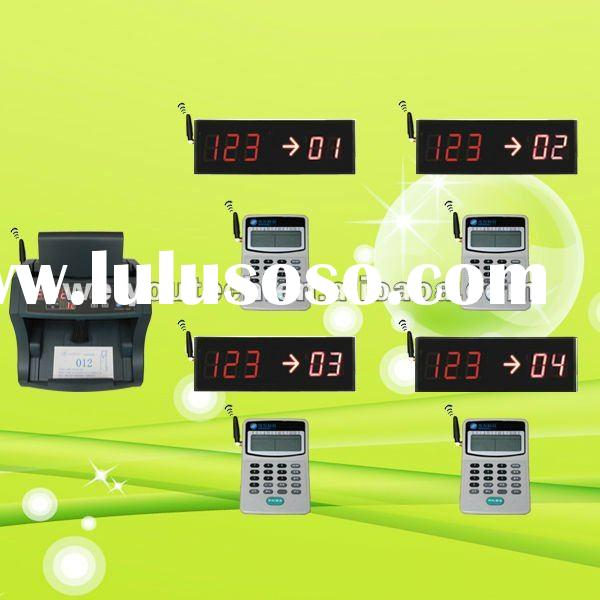 One service, multi counters Wireless Queue management system