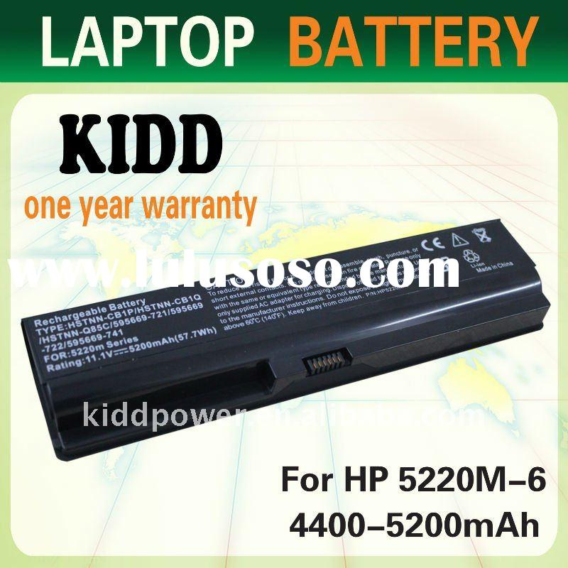 R4400mAh 5200eplacement Laptop Battery For HP ProBook 5220m series HSTNN-CB1P HSTNN-CB1Q 5220m(XD084