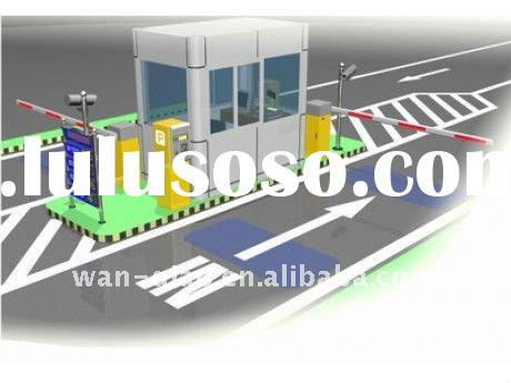 RFID/Barcode Automatic Car Parking System