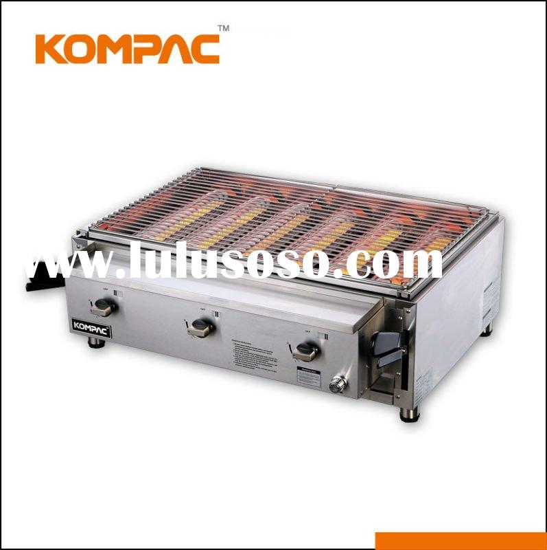 Security,Low carbon Infrared Gas Grill/bbq/outdoor built-in gas grill